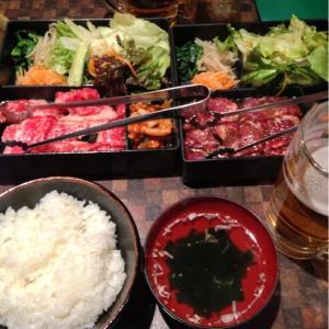 蒲田 焼肉 夜景