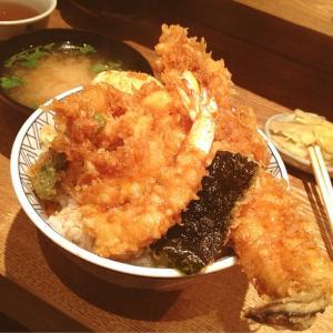 東京の美味しい天丼
