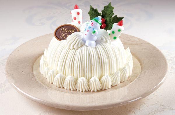 東京會舘「クリスマスマロンシャンテリー」