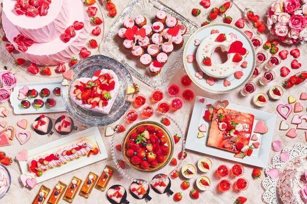 ヴィーノ ボーノ『恋するいちごのデザートブッフェ~たくさんの、LOVEを届けよう。~』