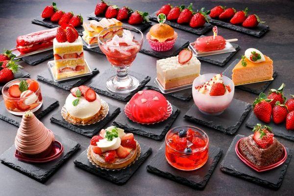 ホテル日航大阪『苺のスイーツオーダーブッフェ』
