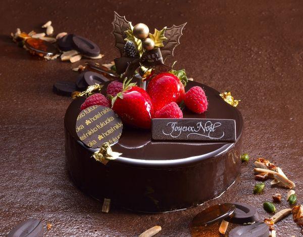ホテル日航福岡「チョコレートケーキ」