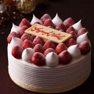 ホテルニューオータニ大阪「スーパークリスマスショートケーキ」