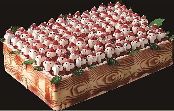 名古屋観光ホテル「苺のサンタパレード」