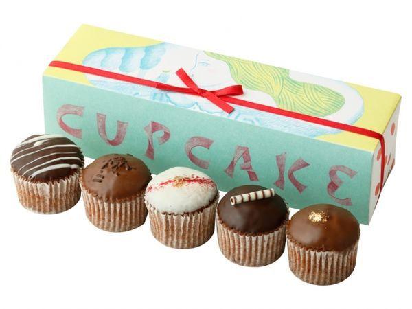 フェアリーケーキフェア「ベイクドチョコレート 5個入」