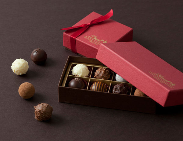 リンツ ショコラ カフェ「リンツ・ガトーショコラバレンタイン」