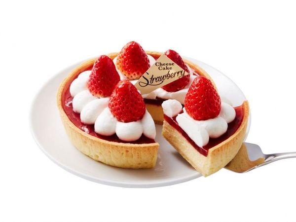 モロゾフ「ホワイトデー さがほのかいちごのチーズケーキ」1,404円(税込)