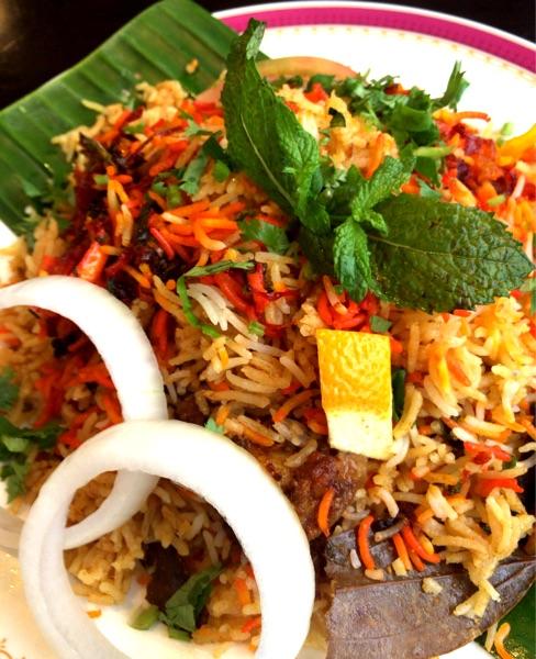 カーンケバブビリヤニ(Khan kebab biryani)