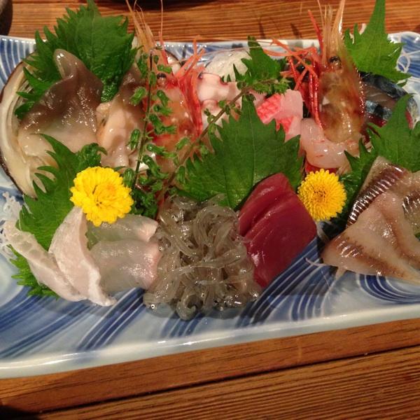 北海道産の食材が多い『炉端焼 うだつ』