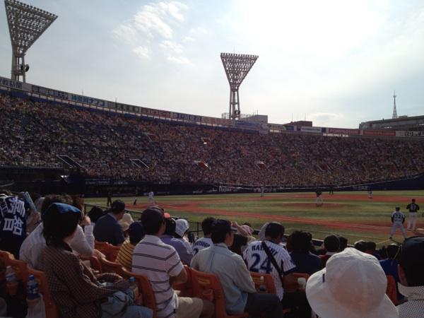 横浜スタジアムの座席表