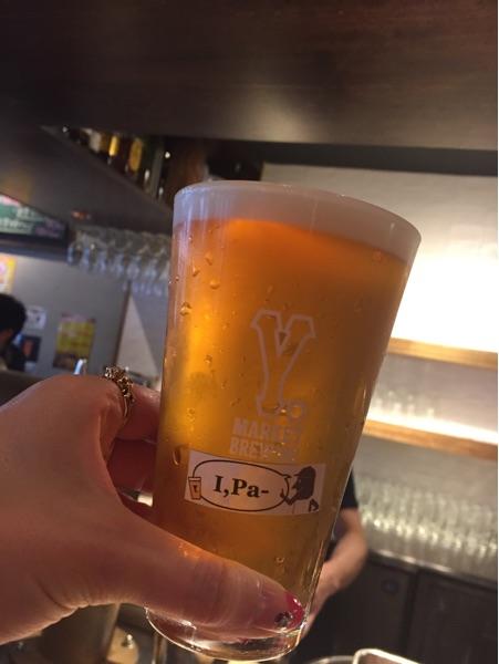クラフトビールは8種類!ビール党にはたまらない一軒