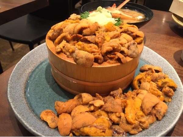 和食Tokyo   ウニ(海栗・雲丹)料理専門店 東京