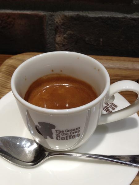 ザ クリーム オブ ザ クロップ コーヒー 渋谷ヒカリエ店(The Cream of the Crop Coffee)