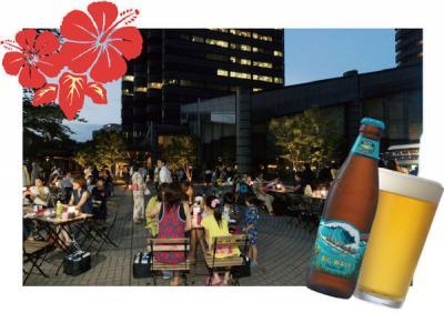 御殿山トラストシティ ビアガーデン 夏祭り Aloha Gotenyama