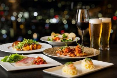 【屋内開催】リーガロイヤルホテル広島 ダイニングバー リーガトップ「BEER FAIR 2018 ~ビア&充実の肉料理~」
