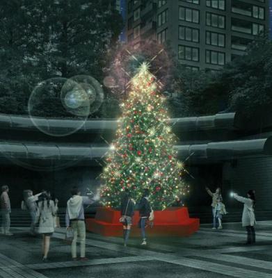 アークヒルズクリスマス ~LIGHT of mine~(ARK HILLS WINTER 2017-2018)
