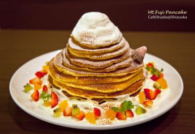 祝!世界文化遺産登録「富士山パンケーキ」 / カフェスタジオ@シズオカ