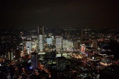 TOWERS Milight~みなとみらい21 オフィス全館ライトアップ~