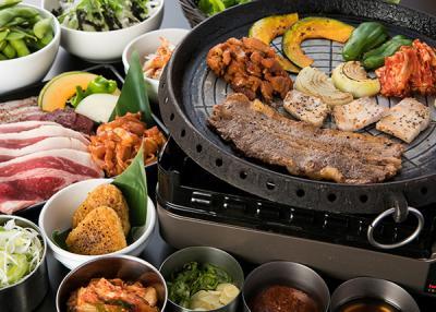 熊本パルコ屋上 アロハ 肉食べ放題BBQビアガーデン