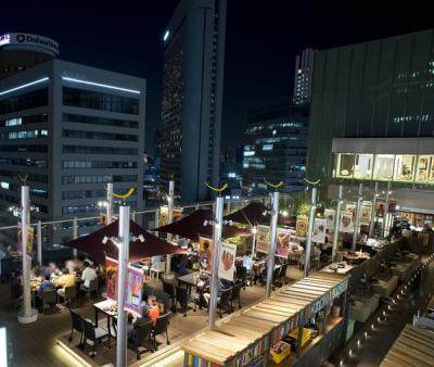 大阪駅ビルビアガーデン「ラテンnaビアガーデン」