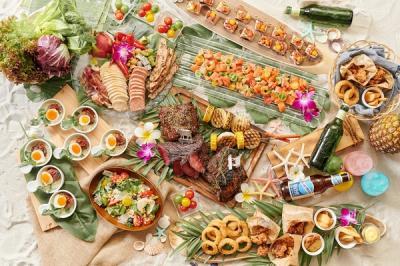 新浦安アートグレイス・ウエディングコースト Roof top beer garden ~Hawaiian Style~