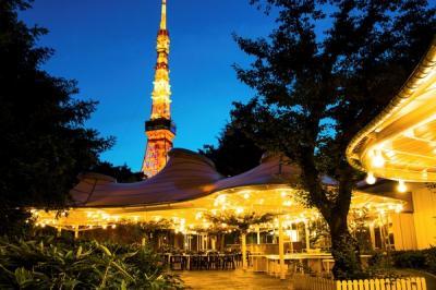 東京プリンスホテル 森の中のビアガーデン