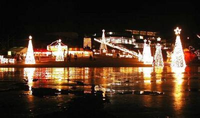 沖縄こどもの国 イルミネーション クリスマスファンタジー 2017