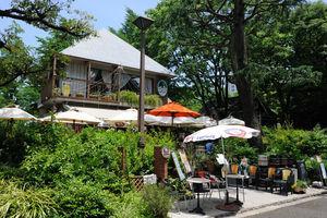 日比谷公園 BEER TERRACE HIBIYA SAROH(日比谷茶廊)