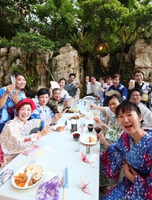 ANAクラウンプラザホテル沖縄ハーバービュー ビアガーデン