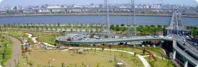 大島小松川公園(小松川千本桜堤)