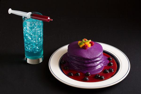 ハロウィン限定のパンケーキ&ドリンクが登場