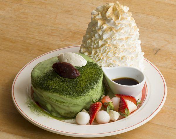 ●名古屋PARCO店限定『西尾抹茶のティラミスパンケーキ』1,500円
