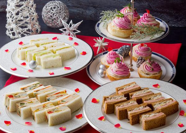 ホテル王道のスイーツ&サンドウィッチもクリスマス!