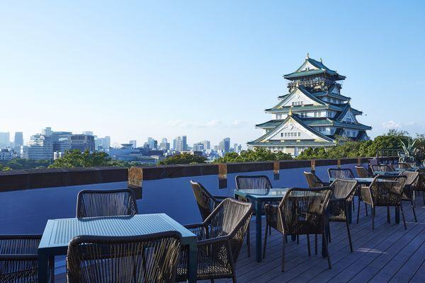 大阪城天守閣を眺める大迫力の絶景スポット