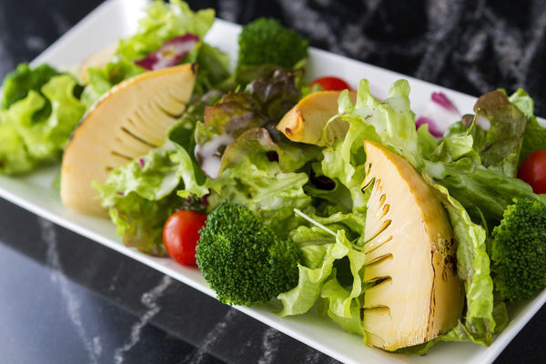 グリル筍の温野菜サラダ