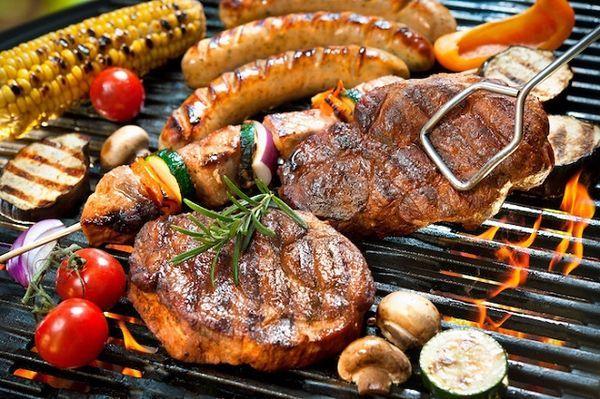 牛豚鶏 3種のお肉が楽しめるBBQ「カジュアルBBQコ―ス」4,800円(2名~)