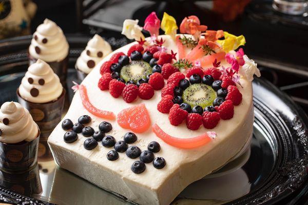魂のロック!シュガースカル・チョコレートケーキ