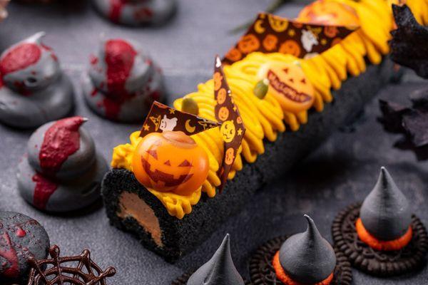 かぼちゃロールケーキ