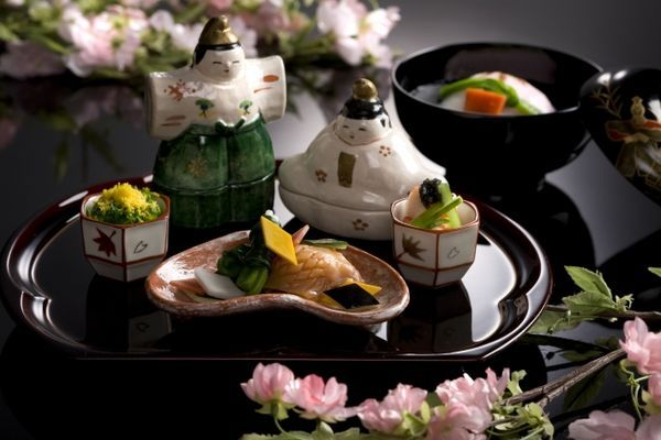 日本料理 うえまち では桃の節句プランとお子様弁当を販売!