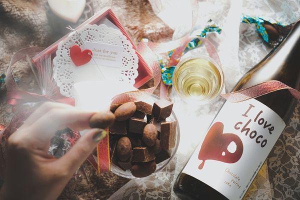バレンタインシーズン限定 チョコレート盛り合わせ&日本酒をプレゼント!