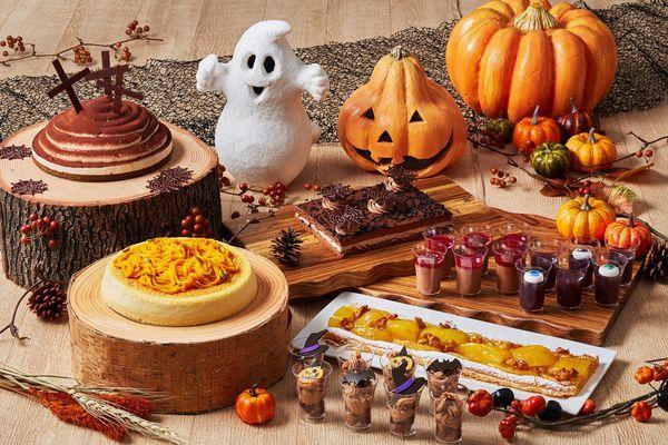 かぼちゃやおばけモチーフがスイーツを彩る