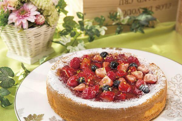 3種のベリー「ストロベリーチーズケーキ」