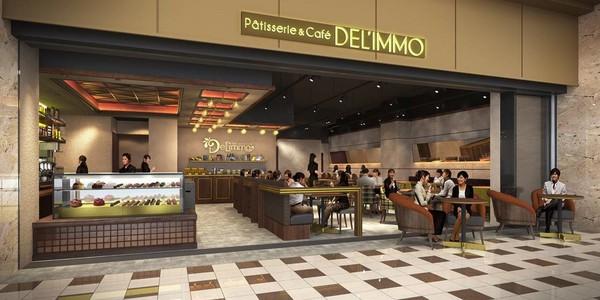 デリーモ 東京ミッドタウン日比谷店(Pâtisserie & Café DEL'IMMO)