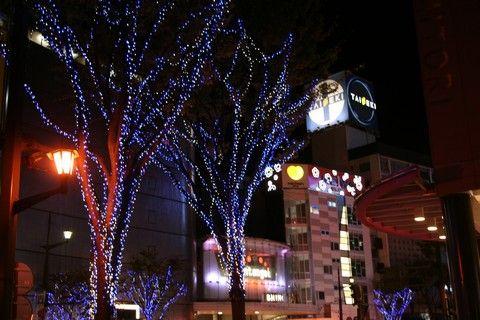 熊本市中心市街 イルミネーション 2017(光のページェント in くまもと)