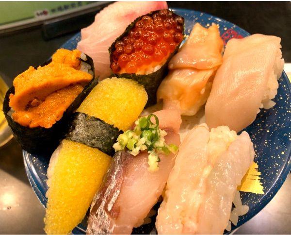 田端のもり一  たぶん東京 最高の回転寿司^_^一皿150円 均一。ハーフ&ハーフで頼めるのがgood^_^