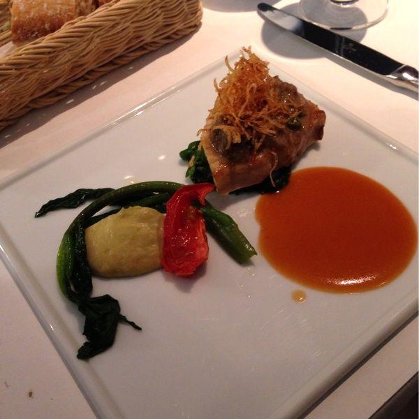 ブラッスリー ポール・ボキューズ 大丸東京 メインの魚料理