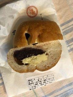 木村屋總本店 銀座本店   あんバター    バターの塩梅がこのパンの命でしょうね〜